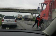 Autostradoje Kaunas-Klaipėda – net trys avarijos