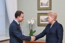 Prezidentė: vaistų kainų mažinimas – pasitikėjimo testas naujam ministrui