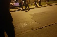 Kaune susidūrus automobiliams moterį ištiko šokas