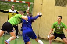 Vilniaus rankinio derbis: ledo ritulio elementai ir geltonos kortelės treneriams