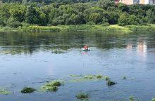 Upėje rastas skenduolis
