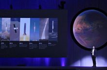 Pristatyta ambicinga Marso kolonizavimo vizija