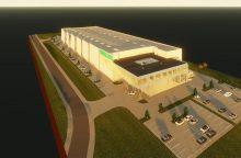 Šalia vakarinio aplinkkelio – sandėlis su administracinėmis patalpomis už 8 mln. eurų
