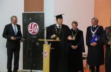 Inauguruotas naujasis LSU rektorius