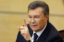 Ukrainos ministras: V. Janukovyčius davė komandas jėga išvaikyti Maidano revoliuciją