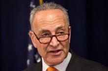 JAV Senatoriai susitarė dėl vyriausybės atidarymo