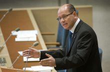 Lietuvoje lankosi Švedijos parlamento vadovas