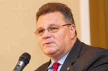 L. Linkevičius ragina nustatyti ekonominių santykių su Kinija taisykles