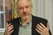J. Assange'as žada vykti į JAV, jeigu bus garantuotos jo teisės