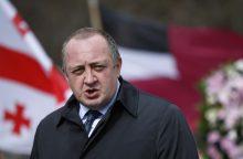 Bevizį režimą su ES vienas pirmųjų išbandys pats Gruzijos prezidentas
