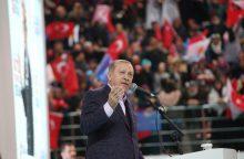 "R. T. Erdoganas vadina Izraelį ""teroristine valstybe"""
