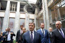 V. Pranckiečio kvietimu Vilniuje lankosi Lenkijos Seimo maršalka