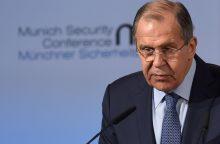 """Rusija pasisako už """"postvakarietišką"""" pasaulio tvarką"""