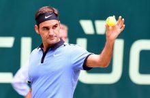 Iki devinto titulo R. Federeriui beliko tik žingsnis