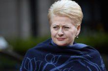 Rusijos šnipo taikinyje – Lietuvos prezidentė