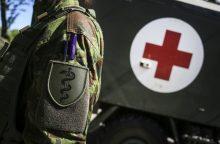 Generolo S. Žukausko poligone sunegalavo kariai