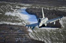 NATO naikintuvai praėjusią savaitę Rusijos orlaivius lydėjo kartą