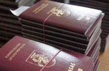 Dėl dvigubos pilietybės – nė iš vietos