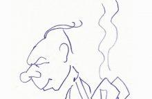 Pirmą sykį Lietuvoje eksponuojami meno istoriko J. Baltrušaičio piešiniai