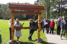 Trakų krašte – naujas miškų parkas