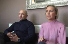 Verslą Anglijoje kūrusi emigrantų pora susidūrė su tautiečio reketu