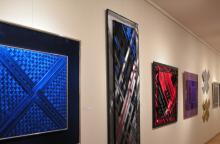 Dailininkė L. J. Kryževičienė pristatė 50 savo kūrybos metų parodą