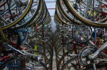 Vagių grobis – labai brangūs dviračiai