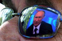 "V. Putinas apdovanojo ""Litovskij kurjer"" vyriausiąjį redaktorių V. Tretjakovą"