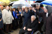 Vokietijoje mirė Holokaustą išgyvenęs 96-erių M. Mannheimeris