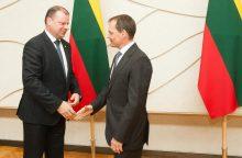 Premjeras TVF misijai pristatys struktūrines reformas