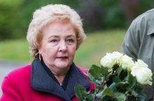 K. Brazauskienė nenori kraustytis iš Turniškių