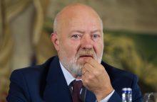 E. Gentvilas tikisi perimti Antikorupcijos komisijos vadovo postą