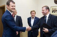 Premjeras: nuo liepos gyvename naujos socialdemokratų valdžios trileryje