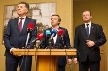 Keturi valdančiosios koalicijos likimo scenarijai: kuris realiausias?