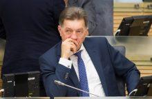 A. Butkevičius apskundė V. Baką Seimo etikos sargams