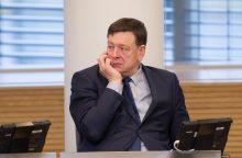 V. Bukauskas paliko Socialdemokratų darbo partijos frakciją Seime