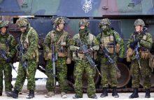 Lietuva sulauks pirmųjų tarptautinio NATO bataliono karių