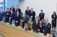 Visos ministerijos po vienu stogu – iki 2024-ųjų pabaigos