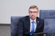 L. Kukuraitis apie vaikų teisių apsaugą: blaškymosi būti nebegalės