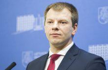 V. Šapoka: galima diskutuoti dėl savivaldybių skaičiaus mažinimo