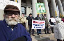 Vyriausybė pirmadienį imasi pensijų reformos