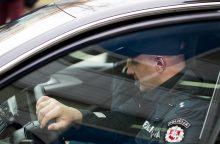 Vilniuje per BMW gaudynes sužaloti keli pareigūnai