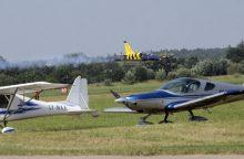 Aleksoto aerodrome nukrito lėktuvas