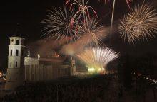 Vilniaus savivaldybė ieškos vietos šventiniams fejerverkams