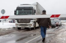 Lietuvos vežėjai nepatenkinti leidimų vežti krovinius į Rusija kiekiais