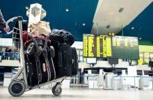 Iš oro uosto keleivio bagažo dingo 9,5 tūkst. eurų