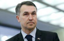 P. Auštrevičius: Astravo AE klausimas turėtų dominuoti ES ir Baltarusijos santykiuose