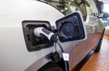 Lietuvoje yra apie 350 elektromobilių