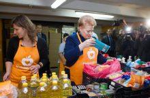 """Gyventojai vėl kviečiami aukoti """"Maisto bankui"""""""