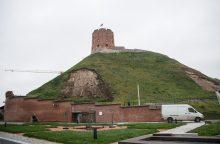 Gedimino kalną siūloma gelbėti šalinant dalį pilies ir gynybinės sienos